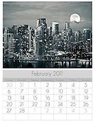 Vancouver Cityscape - February 2011 by Lloyd K. Barnes Photography