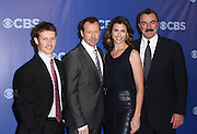 Will Estes, Donnie Wahlberg, Bridget Moynahan and Tom Selleck attend the 2010-2011 CBS Upfront Arrivals at Lincoln Center in New York City on May 19, 2010...