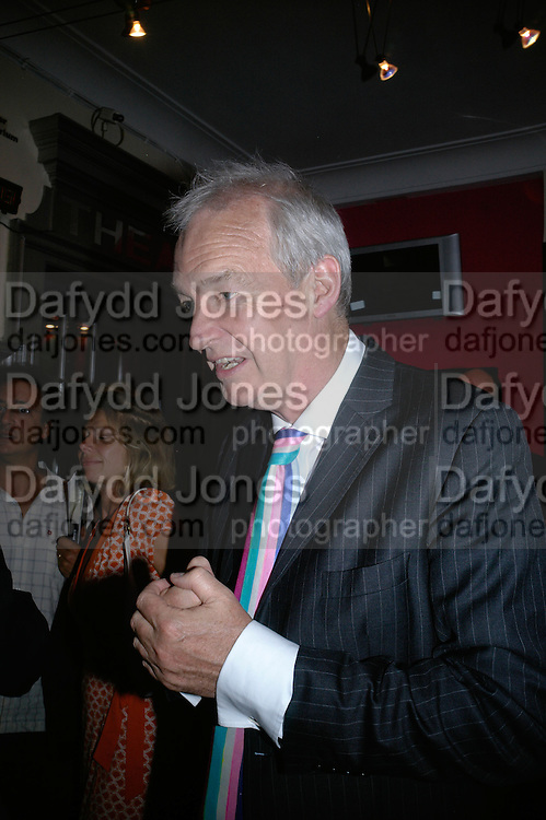 JON SNOW, Opening night of 'Called To Account' The Tricycle  Theatre. London. 23 April 2007.  -DO NOT ARCHIVE-© Copyright Photograph by Dafydd Jones. 248 Clapham Rd. London SW9 0PZ. Tel 0207 820 0771. www.dafjones.com.