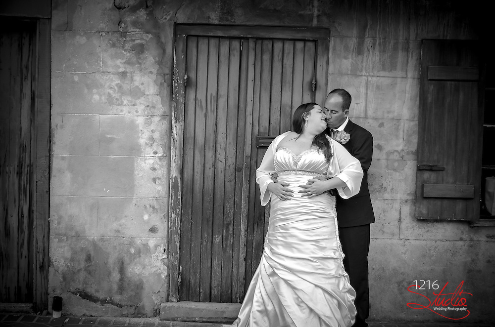 "Trea & Stephanie |  Bride & Groom Session French Quarter 2013 ""First Look"" 