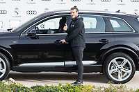 Gareth Bale of Real Madrid CF poses for a photograph after being presented with a new Audi car as part of an ongoing sponsorship deal with Real Madrid at their Ciudad Deportivo training grounds in Madrid, Spain. November 23, 2017. (ALTERPHOTOS/Borja B.Hojas)