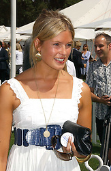 ISABELLA ANSTRUTHER-GOUGH-CALTHORPE at the Cartier International polo at Guards Polo Club, Windsor Great Park, on 30th July 2006.<br />