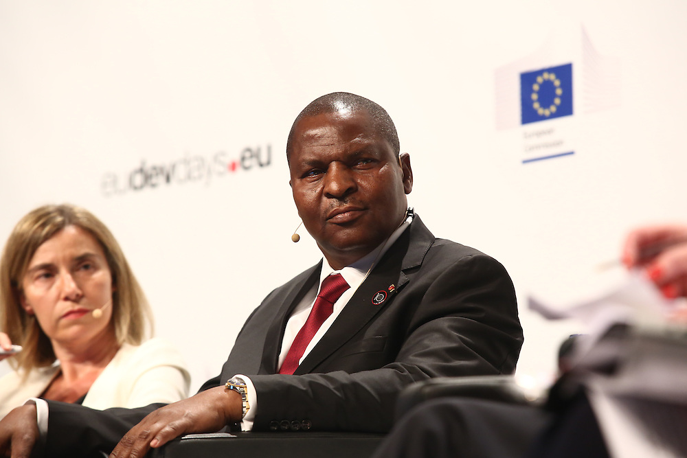 20160615 - Brussels , Belgium - 2016 June 15th - European Development Days - Implementing Sustainable Development Goal 16 for peaceful and inclusive societies - Faustin-Archange Touadéra, President, Central African Republic © European Union