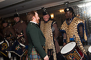 CHAIRMAN; JOHN SHIELDS, NICK GAIR; TAF GARIKAYI, The Royal Caledonian Ball 2017, Grosvenor House, 29 April 2017