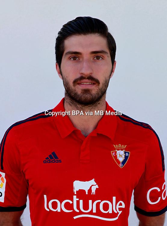 Spain - La Liga Adelante 2014-2015 / <br /> ( Club Atletico Osasuna ) - <br /> Karim Ansarifard