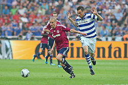21.05.2011, Olympia Stadion, Berlin, GER, DFB Pokal Finale 2011,  MSV Duisburg vs Schalke 04, im Bild Peer Kluge (Schalke 04 #12) und Manuel Schaeffler (Schäffler) (MSV Duisburg #22)   // during the DFB Cup final 2011 MSV Duisburg vs. Schalke 04 at the Olympic Stadium, Berlin, 21/05/2011 EXPA Pictures © 2011, PhotoCredit: EXPA/ nph/  Hammes       ****** out of GER / SWE / CRO  / BEL ******