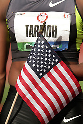 Olympic Trials Eugene 2012: womens' 100  meters, Jeneba Tarmoh