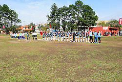 Lance da partida entre Bom de Bola x Escola Aparecida de Canoas válida pela copa Coca-Cola, no Estadio Candido de Menezes, neste sabado 27/08/2011, em Porto Alegre. FOTO: Marcelo Campos/Preview.com