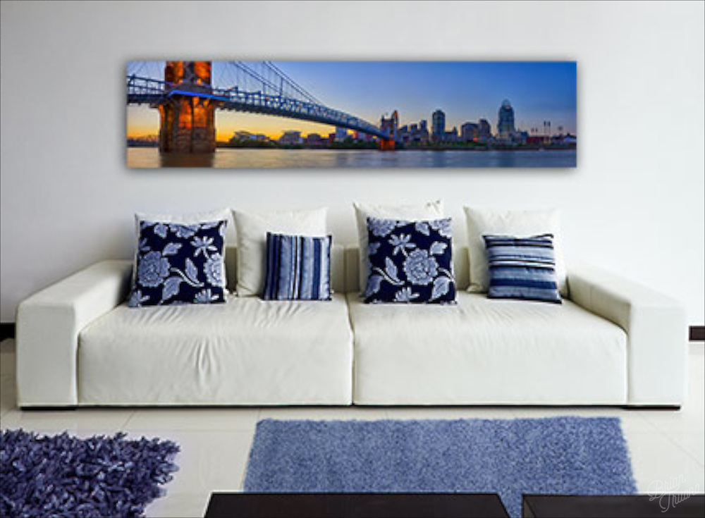 &quot;The Crossing&quot; at 60&quot;x14&quot; on Glossy Aluminum Metal, Framed to edge.<br /> <br /> http://www.btruono.com/image/I00008SIi8U.nmCU<br /> <br /> Please contact me for custom print sizes and framing: http://www.btruono.com/#!/contact