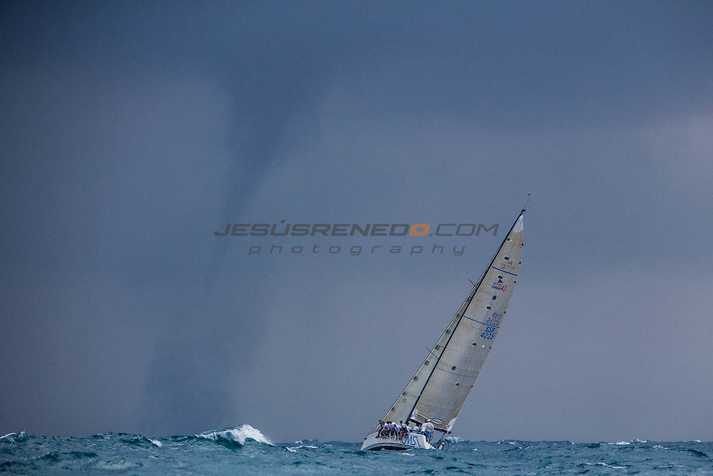 XVI TROFEO SM LA REINA - CAMPEONATO DE EUROPA DE ORC,Valencia, Spain.  First day of racing, costal race