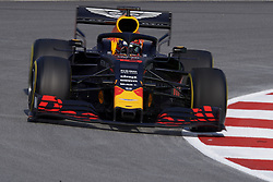 February 19, 2019 - Barcelona, Barcelona, Spain - Pierre Gasly of France driving the (10) Aston Martin Red Bull Racing RB15 during day two of F1 Winter Testing at Circuit de Catalunya on February 19, 2019 in Montmelo, Spain. (Credit Image: © Jose Breton/NurPhoto via ZUMA Press)