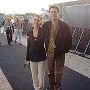 Premiere de la Guarda Amsterdam, Daniel Boussevain en vriendin Vanessa Henneman