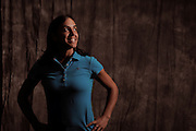 Paula Reto during portrait session prior to the second stage of LPGA Qualifying School at the Plantation Golf and Country Club on Oct. 6, 2013 in Venice, Florida. <br /> <br /> <br /> ©2013 Scott A. Miller