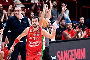 Simon Krunoslav<br /> Olimpia EA7 Emporio Armani Milano Sidigas Avellino<br /> Basket Serie A 2016/2017<br /> Milano 08/10/2016<br /> Foto Ciamillo-Castoria