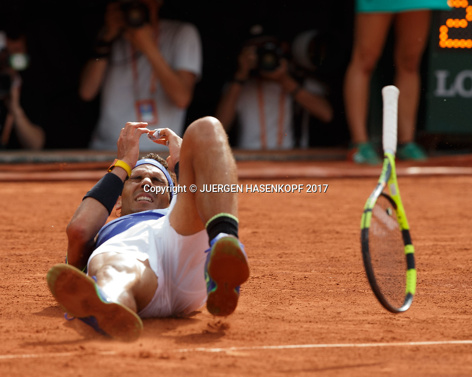 RAFAEL NADAL (ESP)<br /> <br /> Tennis - French Open 2017 - Grand Slam / ATP / WTA / ITF -  Roland Garros - Paris -  - France  - 11 June 2017.