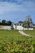 Chateau Fonplegade in the town of St Emilion, Bordeaux, France