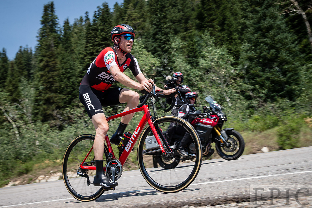 Cycling: Larry H. Miller Tour of Utah 2017 / Stage 3 - Brent Bookwalter (BMC)<br /> <br /> Big Cottonwood Canyon (9km) / TOU / ITT / Individual Time Trial / Utah  <br /> &copy; Jonathan Devich