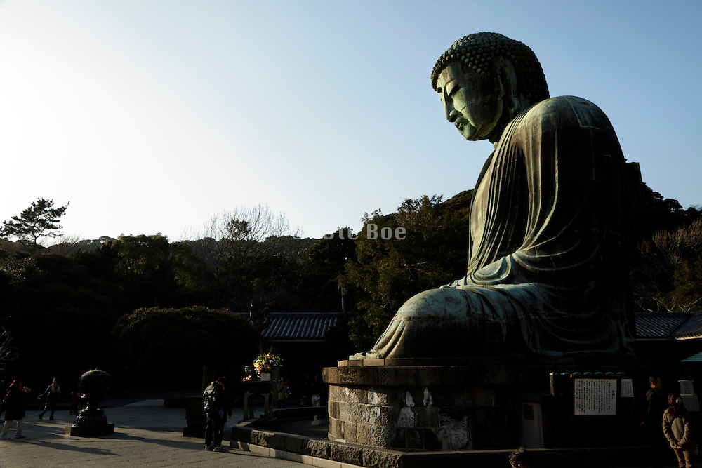 The Great Buddha at Kamakura Japan