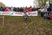 Friday 1 November 2013: Margriet Kloppenburg in action during the Koppenbergcross 2013 women's race. Copyright 2013 Peter Horrell