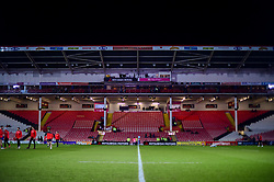 A general view of the Kingsholm Stadium prior to kick off - Mandatory by-line: Ryan Hiscott/JMP - 15/02/2019 - RUGBY - Kingsholm - Gloucester, England - Gloucester Rugby v Exeter Chiefs - Gallagher Premiership Rugby