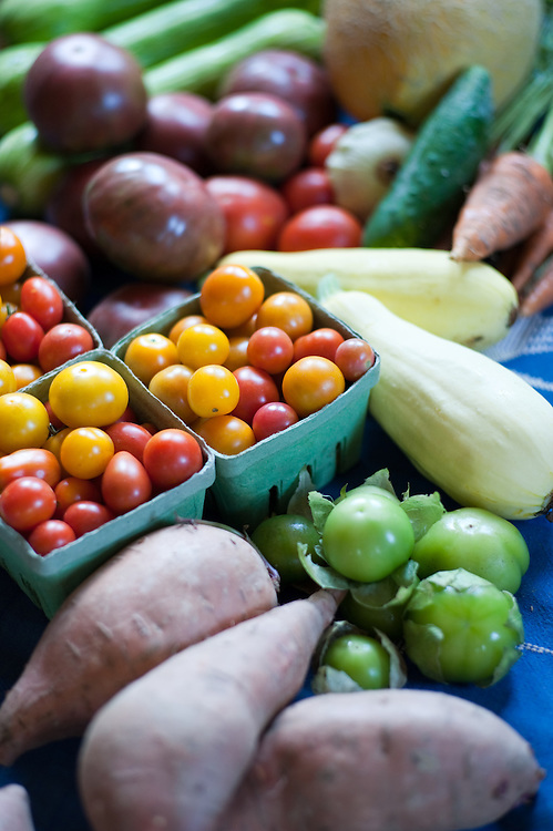 Table of produce