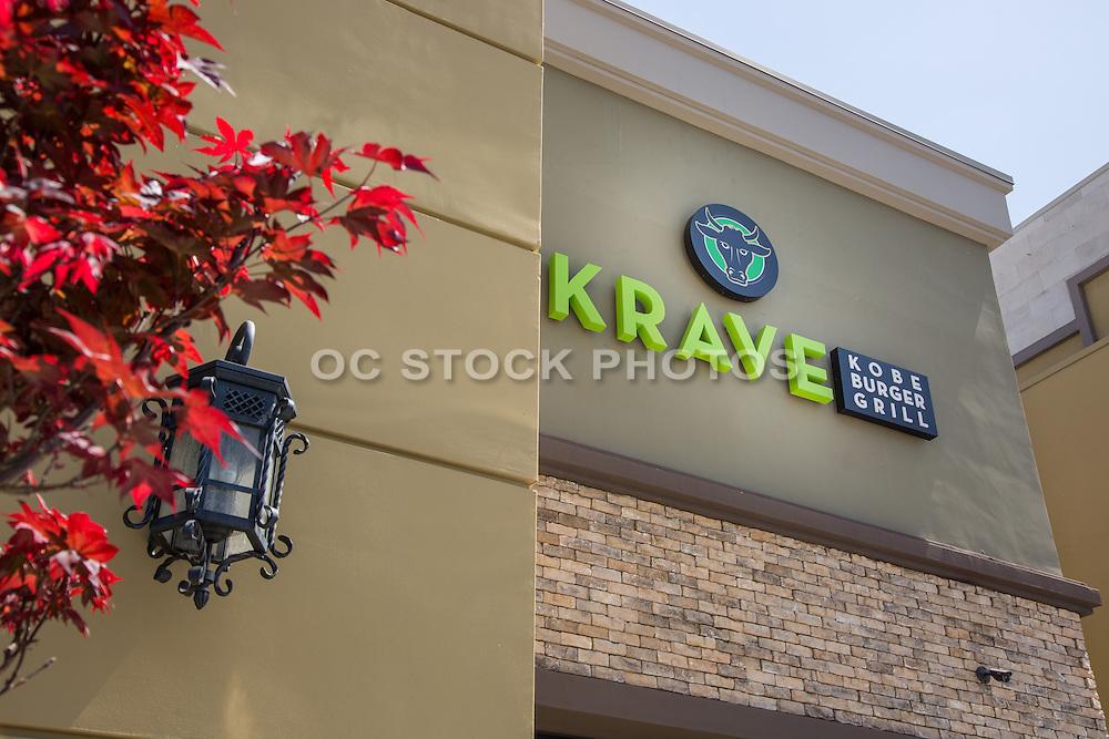 The Krave Kobe Burger Grill at Glendora Plaza