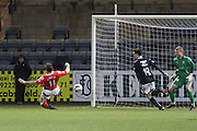 Craig Curran scores Ross County's equaliser - Dundee v Ross County, SPFL Premiership at Dens Park<br /> <br />  - &copy; David Young - www.davidyoungphoto.co.uk - email: davidyoungphoto@gmail.com