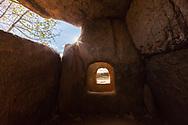 Ancient thracian stone tomb