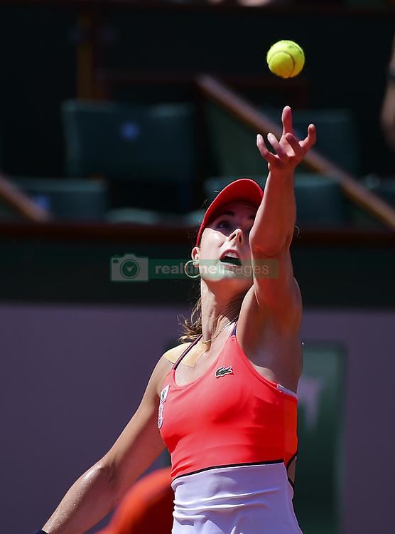 June 1, 2017 - Roland Garros Porte D Auteuil, France - 5e  journee :  Alize Cornet vs Barbora Strycova ces5e  journee :  Alize Cornet (Credit Image: © Panoramic via ZUMA Press)