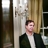 Nederland, Amsterdam,24 november 2008..oorlogsjournalist Dexter Filkins..Met De altijd oorlog. heeft Dexter Filkins het boek geschreven dat enigszins voelbaar maakt wat er nu in Afghanistan en Irak gebeurt..Dexter Filkins, the prizewinning New York Times correspondent and writer of The Forever War, about the war in Afghanistan and Irak.