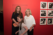 DAISY DONOVAN; DIANA DONOVAN; MAISIE MASER, Preview of Terence Donovan: Speed of Light, Photographers Gallery, Ramillies Place, Thursday 14 July 2016,