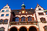 Town Hall (Rathaus), Freiburg, Baden-Württemberg, Germany