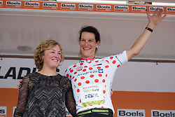 Natalie van Gogh earns the mountains jersey at Boels Rental Ladies Tour Stage 2 a 132.8 km road race from Eibergen to Arnhem, Netherlands on August 30, 2017. (Photo by Sean Robinson/Velofocus)