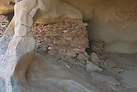 Anasazi Ruins on Aztec Butte, Canyonlands National Park Utah