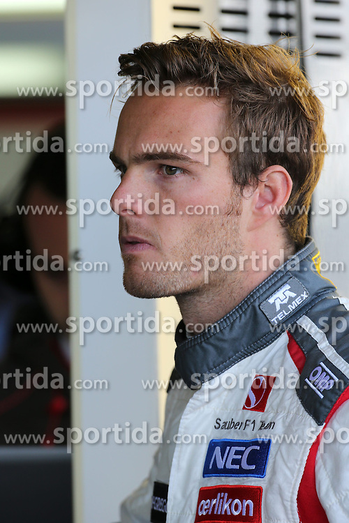 04.07.2014, Silverstone Circuit, Silverstone, ENG, FIA, Formel 1, Grand Prix von Grossbritannien, Training, im Bild Giedo van der Garde (NDL) Sauber Test and Reserve Driver // during the practice of British Formula One Grand Prix at the Silverstone Circuit in Silverstone, Great Britain on 2014/07/04. EXPA Pictures &copy; 2014, PhotoCredit: EXPA/ Sutton Images/ Davenport<br /> <br /> *****ATTENTION - for AUT, SLO, CRO, SRB, BIH, MAZ only*****