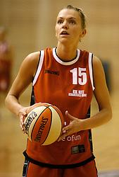 Lidija Becanovic at finals of Slovenian women basketball 1st league between Hit Kranjska Gora and ZKK Merkur Celje, on May 15, 2007, in Kranjska Gora, Slovenia. (Photo by Vid Ponikvar / Sportida)