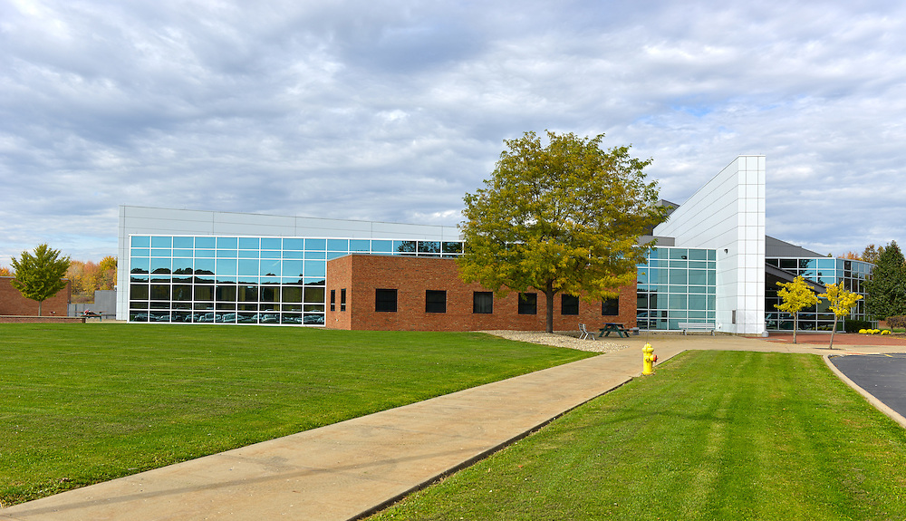 The Technology Building on the Trumbull Campus of Kent State University.