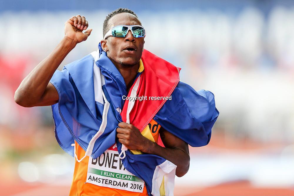 08.07.2016. Amsterdam, Holland. The European Athletics Championships.  Liemarvin Bonevacia (NED)
