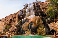 The Cascade Spa at the Evason Ma'in Hot Springs Resort, Jordan.