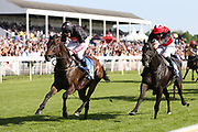 MAGIC CITY (14) ridden by Mr Alexander Fielding and trained by Mick Easterby winning The John Wright Electrical Gentleman Amateur Riders Handicap Stakes over 7f (£15,000) at York Racecourse, York, United Kingdom on 26 May 2018. Picture by Mick Atkins.