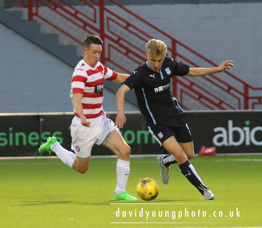- Hamilton v Dundee - SPFL development league at New Douglas Park<br /> <br />  - &copy; David Young - www.davidyoungphoto.co.uk - email: davidyoungphoto@gmail.com