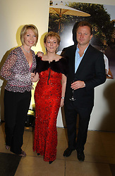 Left to right, KIRSTY YOUNG, JO MALONE and NICK JONES<br />