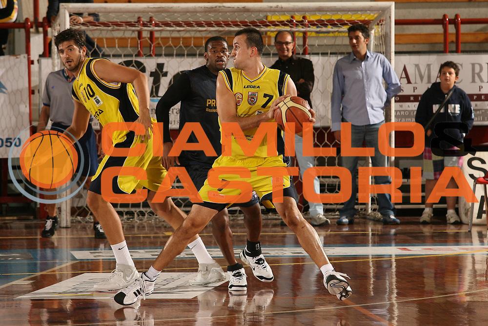 DESCRIZIONE : Porto San Giorgio Lega A1 2007-08 Amichevole Premiata Montegranaro Prima Veroli<br /> GIOCATORE : Sotirios Gioulekas<br /> SQUADRA : Prima Veroli<br /> EVENTO : Campionato Lega A1 2007-2008<br /> GARA : Premiata Montegranaro Prima Veroli<br /> DATA : 05/09/2007<br /> CATEGORIA : Passaggio<br /> SPORT : Pallacanestro<br /> AUTORE : Agenzia Ciamillo-Castoria/M.Marchi