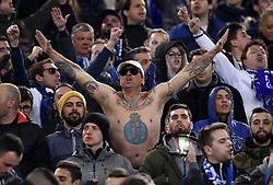 February 12, 2019 - Rome, Italy - AS Roma v FC Porto : UEFA Champions League Round of 16 .Porto supporters at Olimpico Stadium in Rome, Italy on February 12, 2019. (Credit Image: © Matteo Ciambelli/NurPhoto via ZUMA Press)