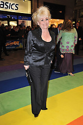 BARBARA WINDSOR arrives at the press night of the new Andrew Lloyd Webber  musical 'The Wizard of Oz' at The London Palladium, Argylle Street, London on 1st March 2011 followed by an aftershow party at One Marylebone, London NW1
