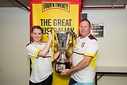 Four'N Twenty Train with the Team 2016 - July 12, 2016: The Gabba, Brisbane, Queensland, Australia. Credit: Pat Brunet / Event Photos Australia