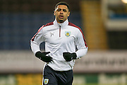 Burnley forward Andre Gray  during the Sky Bet Championship match between Burnley and Nottingham Forest at Turf Moor, Burnley, England on 23 February 2016. Photo by Simon Davies.