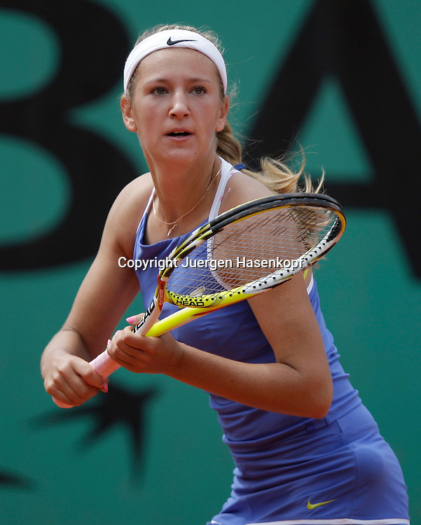 French Open 2009, Roland Garros, Paris, Frankreich,Sport, Tennis, ITF Grand Slam Tournament, <br /> <br /> Victoria Azarenka (BLR).<br /> <br /> Foto: Juergen Hasenkopf