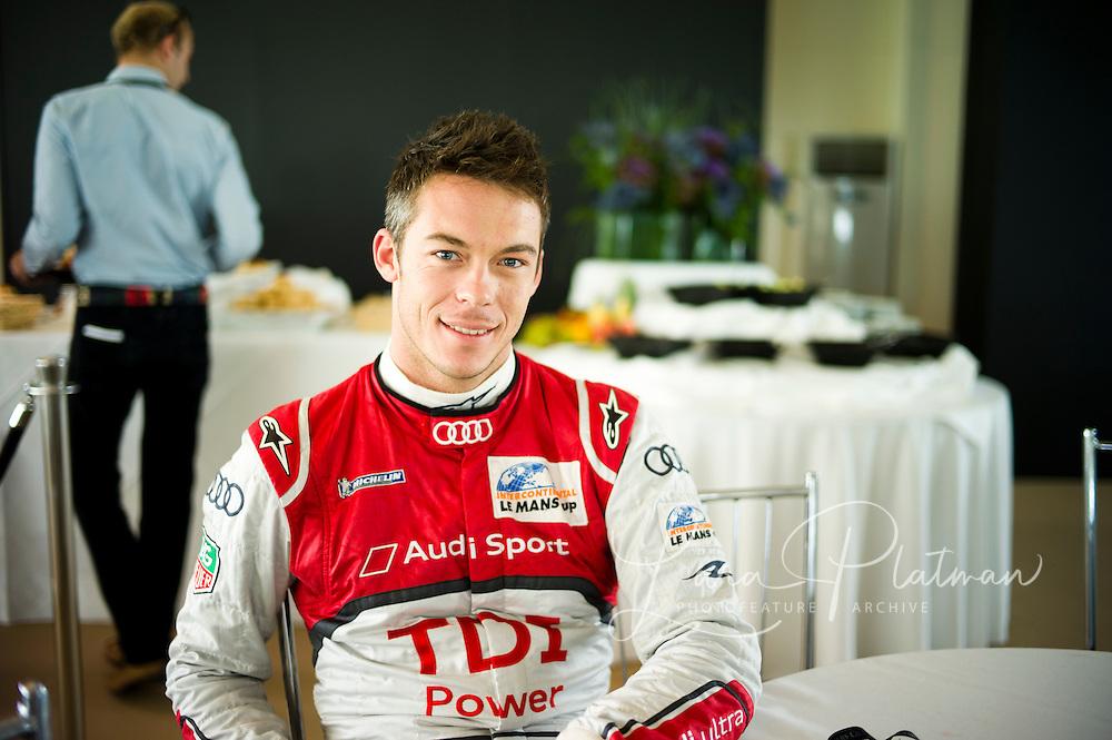 Andre Lotterer, Le Mans 24hr 2011 winner in the Audi Motors TV, Goodwood TV,