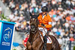 SMOLDERS Harrie (NED), Don VHP Z N.O.P.<br /> Tryon - FEI World Equestrian Games™ 2018<br /> FEI World Individual Jumping Championship<br /> Third cometition - Round A<br /> 3. Qualifikation Einzelentscheidung 1. Runde<br /> 23. September 2018<br /> © www.sportfotos-lafrentz.de/Stefan Lafrentz